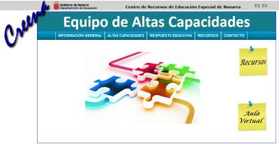 imagen logo Área de atención a Necesidades Educativas Especiales. Equipo de Altas Capacidades