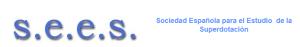 imagen logo Sociedad Española para el Estudio de la Superdotación SEES